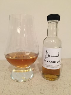 It took 35 years for this Benromach to mature, so please excuse me if I took my time to enjoy this wonderful dram!